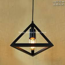 industrial retro matte black nordic minimalist loft bar restaurant clothing living room dining chandelier iron