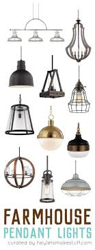 choosing lighting. choosing farmhouse pendant lighting for your kitchen can be a daunting tasks with so many