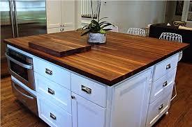 luxury walnut countertop