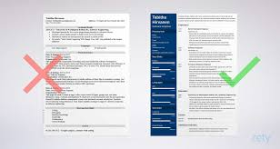 Resume Samples For Software Engineers With Experience Reference