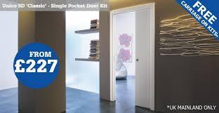 single eclisse classic pocket door kit free carriage unicosdadvert