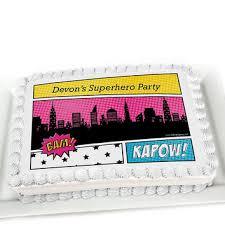 superhero sheet cake shop superhero cakes on wanelo