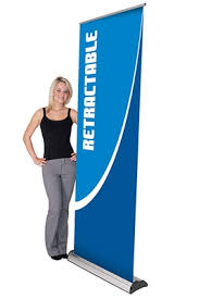 Retractable Display Stands LexJet Imagine Retractable Banner Stand with InterChangeable 2
