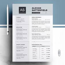 Resume Templates Design Apple Pages Resume Cv Template