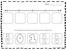Plotting Fractions On A Number Line Worksheet - Checks Worksheet