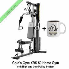 Details About Golds Gym Xrs 50 Home Gym With 112 Lb Weights Workout Strength Training Mug