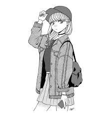 イラストラクガキお絵描き女の子イラストメディバンペイント