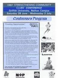 Program Of Events Sample Event Management Sample Conference Program