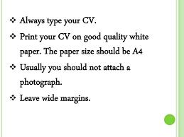 How To Write A Good Cv How To Write A Good Cv Ppt Download