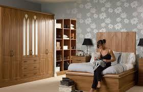 Medium Walnut Bedroom Picture