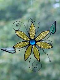 stained glass suncatchers stained glass flower by on stained glass angel suncatcher patterns