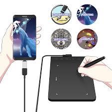 XP Bút Ngôi Sao G640S máy tính bảng Vẽ Đồ Họa Máy Tính Bảng Vẽ có Bút Cảm  Ứng Viên cho OSU! Với Pin bút Stylus 8192 áp suất Digital Tablets