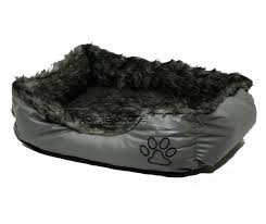 <b>Pet</b> Supplies <b>Pet Dog</b> Cat <b>Warm Basket</b> Comfy Soft Rex Leather ...