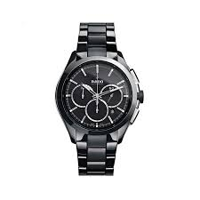 hyperchrome automatic chronograph black ceramic men s watch rado hyperchrome automatic chronograph black ceramic men s watch r32275152