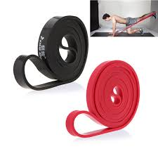 <b>208cm Natural Latex Pull</b> Up Physio Resistance Bands Fitness ...