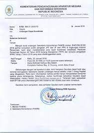 Salah satu contoh dari surat niaga adalan surat penawaran dan surat penagihan. Kementerian Pendayagunaan Aparatur Negara Dan Reformasi Birokrasi Surat Deputi Bidang Sdm Aparatur Perihal Undangan Rapat Koordinasi Untuk Gubernur Batam 23 Januari 2019
