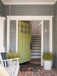 Models House Front Door Open And Familyfriendly Home Makeover Green Doorsfront With Decorating Ideas