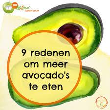 Avocado gezond dieet