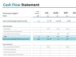 online cash flow calculator cash flow statement office templates
