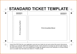 Sample Raffle Ticket Template Best Template Design Images