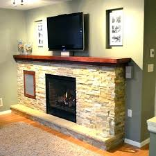 oak mantel shelf for fireplace s red