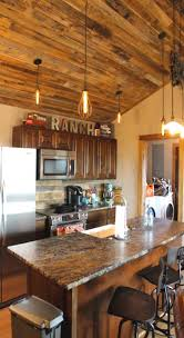 rustic granite countertops best 25 ranch kitchen ideas on