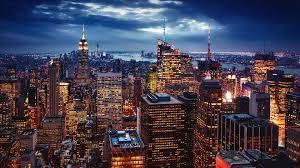City New York City Usa Art Night Images ...
