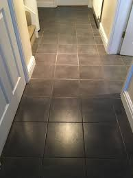 ceramic tile grout cleaned and recoloured in childs ercall