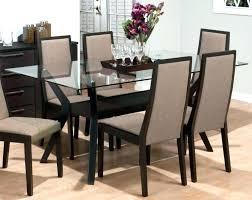 wood glass dining tables modern dining table glass attractive wooden designs with top room design round