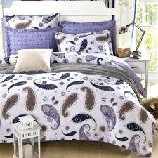 purple paisley bedding sets