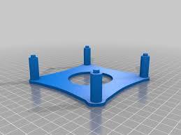 new skeleton frame for diy magnetic stirplate stir plate stirrer kit v2 by digital homebrew by digitalhomebrew thingiverse