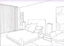 bedroom drawing one point perspective. Fine Perspective Two Point Perspective Drawing Interior  Google Search Throughout Bedroom Drawing One Point Perspective S