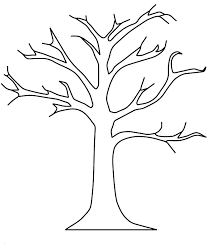 fall coloring sheet apple tree templatedgn apple tree without leaves coloring pages fall
