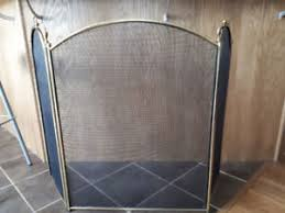 antique fireplace screen. brass fireplace screen antique e