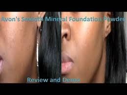 Avons Smooth Mineral Powder Foundation Review Demo