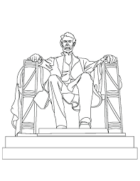600x776 lincoln memorial coloring page bridge coloring page abraham