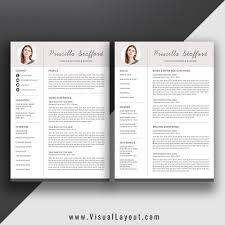 Resume Template The Priscilla Resume Instant Download