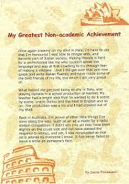 essay on achievements writing the achievement essay essaycom com