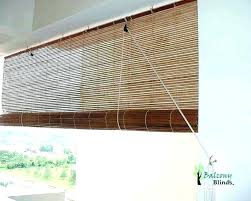 roll up blinds bamboo outdoor shades for canada bl