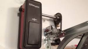 Liftmaster 8500 / 3800 on Wayne Dalton Torquemaster tube - YouTube