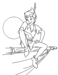 Small Picture Awesome Peter Pan Coloring Pages Print Gallery New Printable