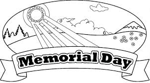 Free Coloring Pages Hispanic Heritage Month Memorial Day Printable