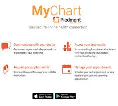 Piedmont My Chart Login Use Piedmonts Online Scheduling Option For College