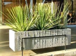 restaurant patio planters. Exellent Patio Outdoor Concrete Planters Restaurant Patio  Google Search Painting Intended R