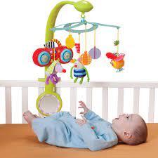 Đồ chơi trẻ sơ sinh nên chọn mua thế nào ?