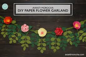 Paper Flower Backdrop Garland Diy Backdrops Archives Avanti Morocha