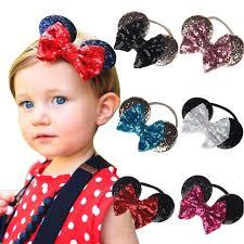<b>Mickey</b> Mouse <b>Headband</b>, <b>Girl</b> Hair Bows, <b>Mickey</b> Party, <b>Baby Girls</b> ...