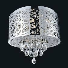 ceiling flush mount crystal chandelier fan view larger light fixture chandeliers null ava gold indoor lighting fixtures uk led oil rubbed bronze semi