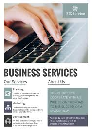 business services template business service company poster template fotojet