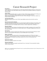 career exploration project essay example   essay for you  career exploration project essay example   image